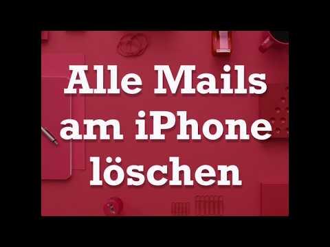 Alle Mails am iPhone löschen (iOS 11)