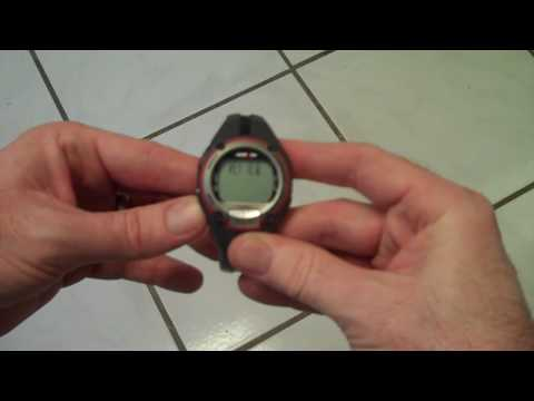 Timex Heart Rate Monitor INSTRUCTIONS HOW TO USE