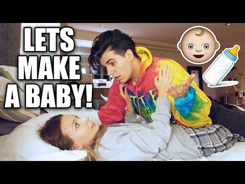 I WANT TO MAKE A BABY PRANK ON GIRLFRIEND! **FUNNIEST REACTION**