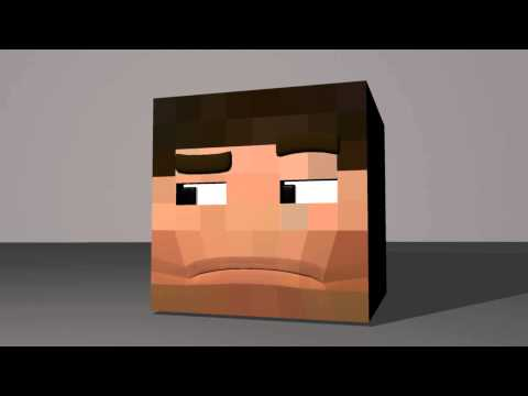 Minecraft Character Rig Testing - Smooth Mouth