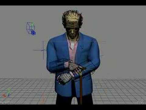 WIP Animation - Greg House - Grab Vicodin
