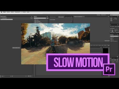 Premiere - Slow Motion Tutorial en Español