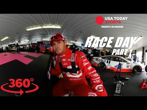 VR Exclusive: Join Kyle Larson for amazing NASCAR race