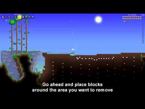 Chaos Control - Terraria - Quick Wall Removal