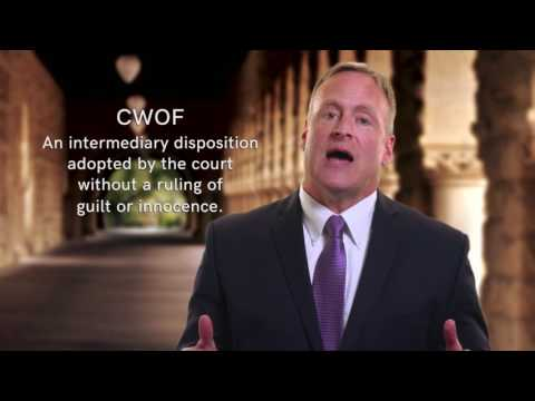 Continuance Without a Finding CWOF Attorney Michale Murray