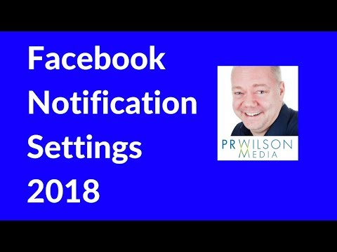 How to edit Facebook notification settings 2018
