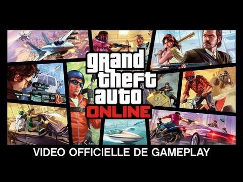 Grand Theft Auto V Online: Vidéo Officielle de Gameplay