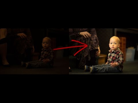 How to pull detail out of severely underexposed photos