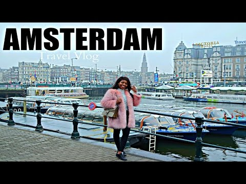 WHAT HAPPENS IN AMSTERDAM ... | Solo Travel Vlog