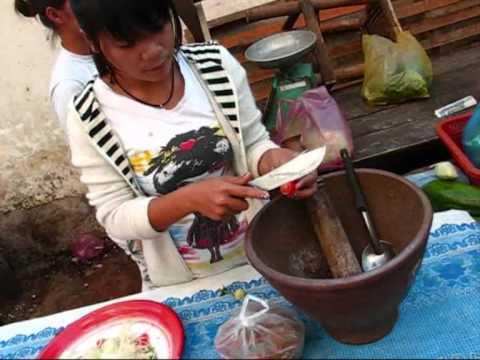 Papaya Salad - Lao Style