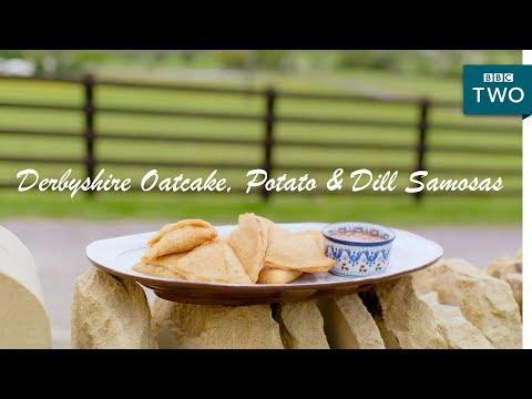 Derbyshire Oatcake, Potato & Dill Samosas | Nadiya's British Food Adventure: Episode 2 - BBC Two
