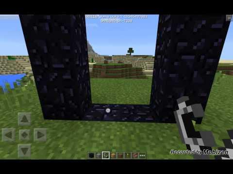 MINECRAFT PE 0.11.0 BUILD 7 NETHER!!!!!!!!!!!!!!!!!!!!!!!!!!