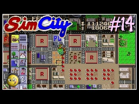 Let's Play Sim City (SNES) Part 14: Scenario-Tokyo Monster Attack 1961