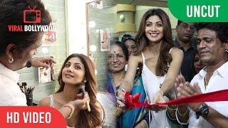 UNCUT - Shilpa Shetty Inaugurates Her Make Up Artist Ajay Shelar