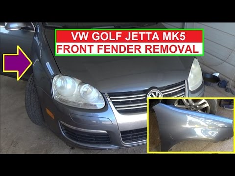 VW Jetta MK5 A5 Vw Golf MK5 Left Fender Replacement  Right Fender Replacement