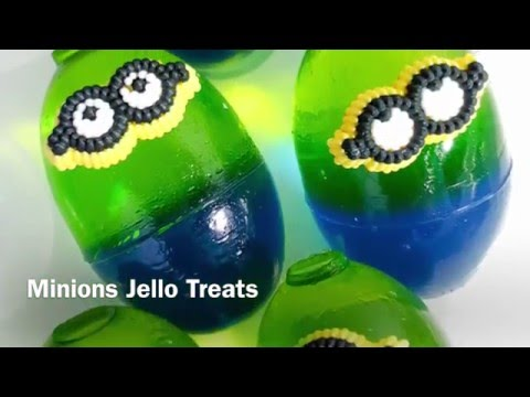 How to Make Minions Jello Snacks for Movie Night