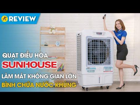 Quạt điều hòa Sunhouse: bình nước to, dùng cho không gian lớn (SHD7772) • Điện máy XANH