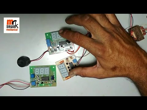 How to make digital voltage and amp meter