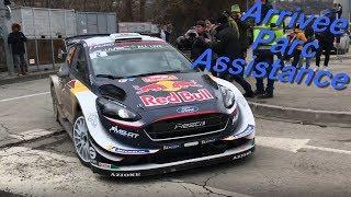 Rallye Monte-Carlo 2018, Parc Assistance à GAP.