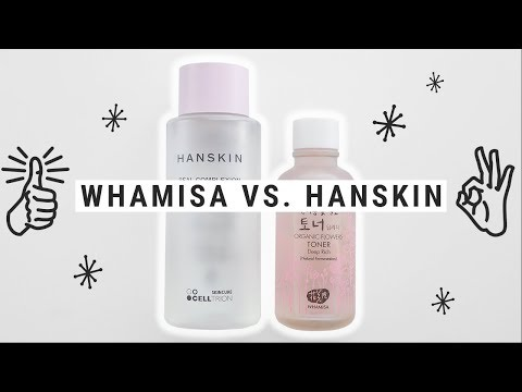 Whamisa Deep Rich Toner vs. Hanskin Hyaluron Skin Essence | THIS VS. THAT
