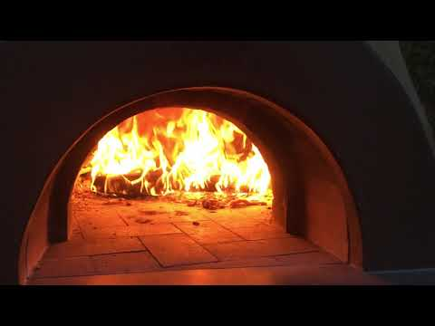 Brick Oven almost ready for pizza