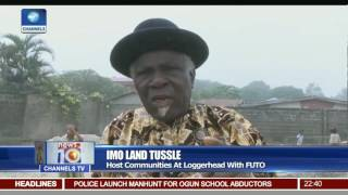 Imo Land Tussle: Host Communities At Loggerhead With FUTO
