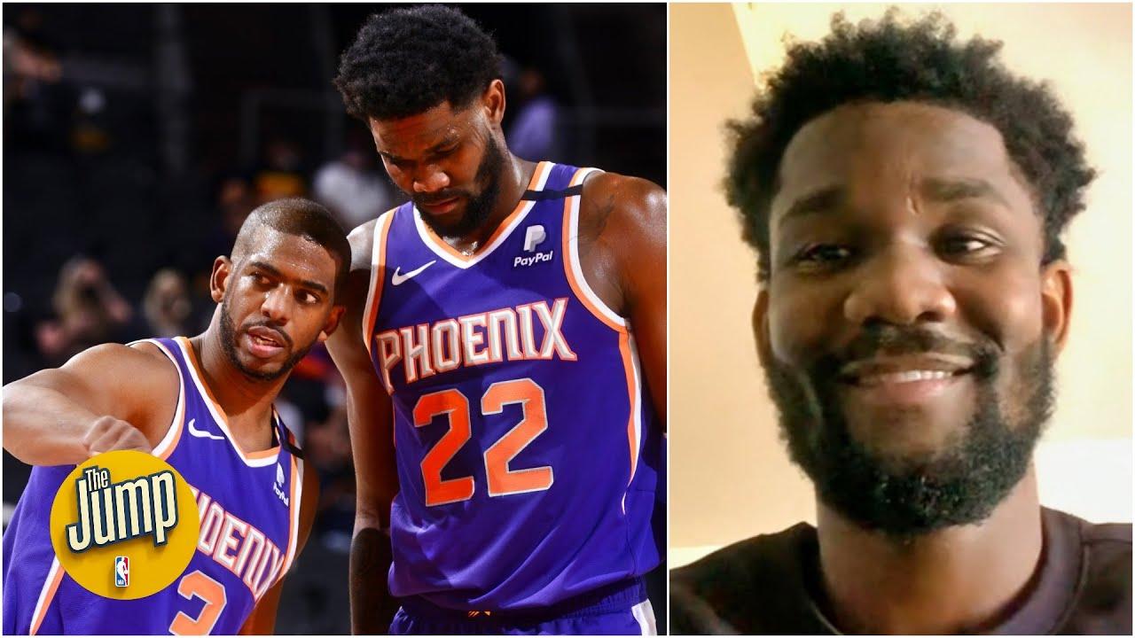 Deandre Ayton talks Phoenix Suns' success, CP3's impact on him | The Jump