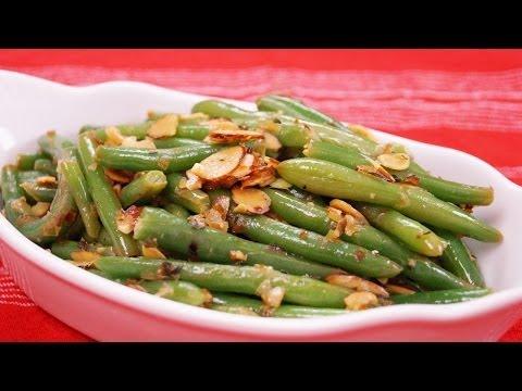 Green Bean Almondine Recipe: Easy Green Bean Side Dish: Recipe by Diane Kometa: Dishin With Di #115