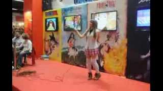 SALON MANGA BARCELONA 2013 - Haru Ookami video 01