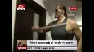 Khali takes revenge after wrestlers ransack his academy in Jalandhar