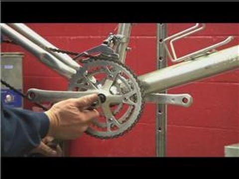 Mountain Bike Maintenance : Remove Square Taper Crank on a Mountain Bike