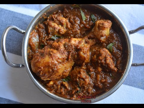 Chettinad Chicken Gravy