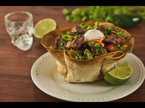 Tequila Steak Tostada Bowl Recipe | Hungry AF