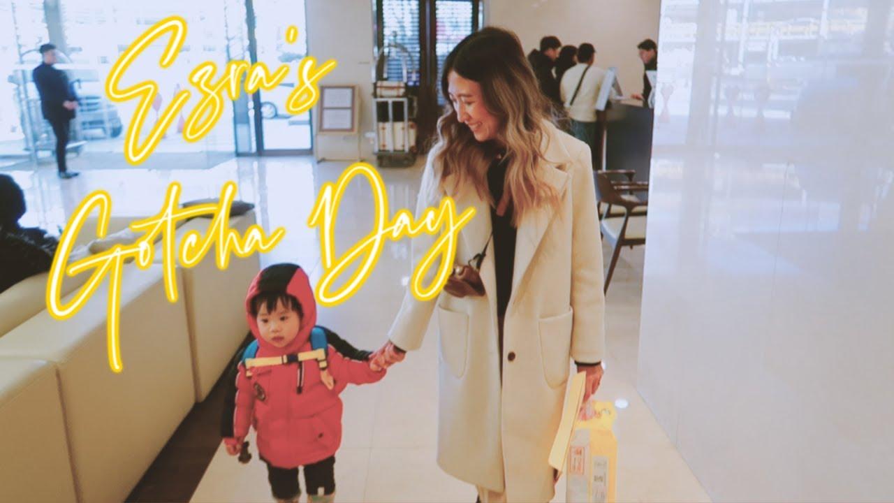 EZRA'S GOTCHA DAY // Korean Adoption