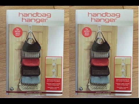 Handbag Hanger, A Perfect Solution For Organizing Your Handbags