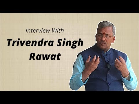Exclusive: CM Trivendra Singh Rawat On Uttarakhand's Development Path After 1 Year Of BJP Rule
