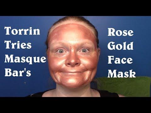Torrin Tries Masque Bar's Rose Gold Face Mask