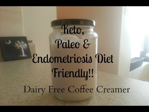 Keto, Paleo & Endometriosis Diet Friendly Coffee Creamer