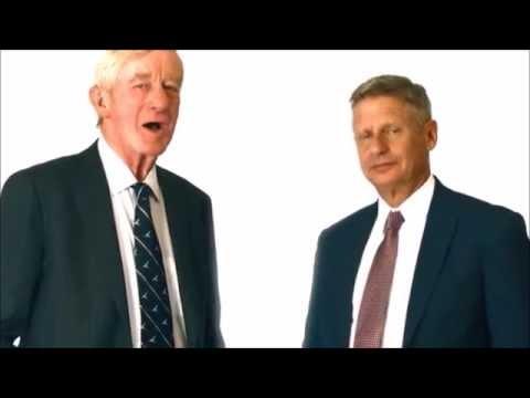 Gary Johnson / William Weld Political Ad: