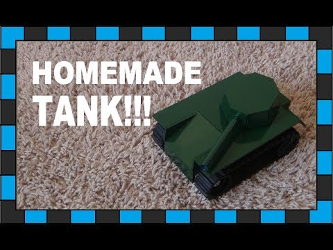 How To Make An RC Tank!!!