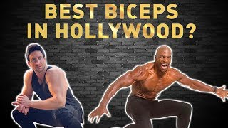 Best BICEPS In HOLLYWOOD? I Stole Terry Crews EPIC Arm Workout!