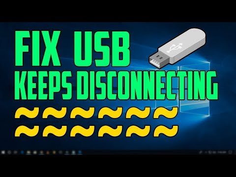 Fix USB devices disconnecting/reconnecting Problem | Windows 10 | Solved