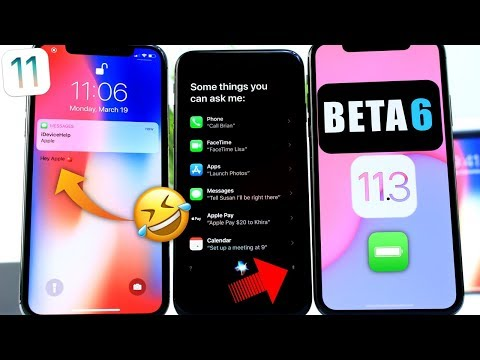 iOS 11.3 Beta 6 Follow-up   iOS 11.3 Glitch Appears in Apple iPhone X Commercial