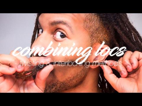 COMBINING DREADLOCKS   Get Stronger & Thicker Locs