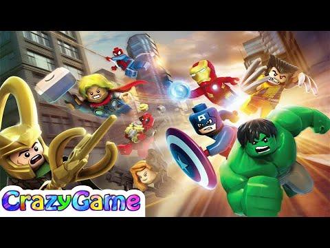 #LEGO MARVEL Super Heroes Complete Walkthrough 100% Story Mode