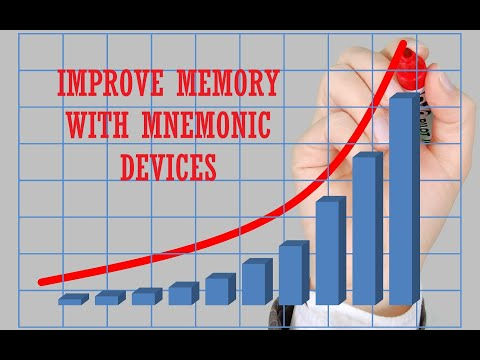 How To Improve Your Memory with Mnemonic Devices
