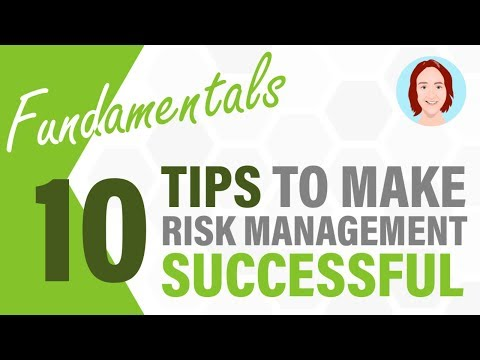 10 Tips to Make Risk Management Successful | Project Management Fundamentals