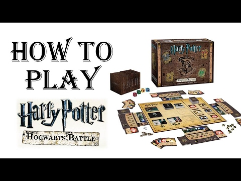 How to play Harry Potter Hogwarts Battle game --- a tutorial for beginners