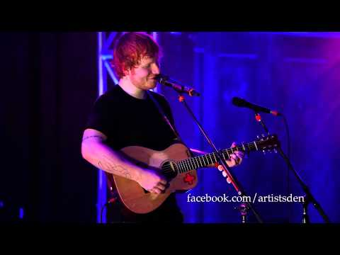 Ed Sheeran - Wake Me Up (Live From The Artist's Den)