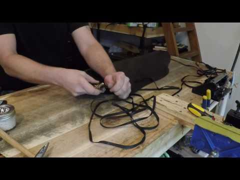 How to make a kangaroo stock whip Part 3